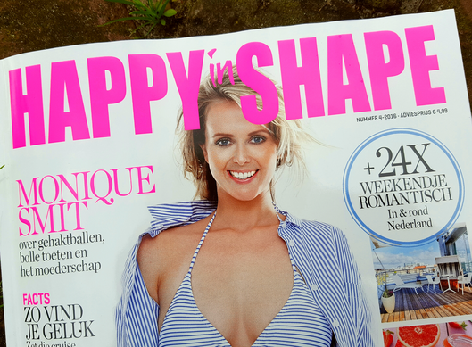 Artikel in Happy in Shape juli 2016